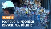 Pourquoi l'Indonésie renvoie deux conteneurs de déchets plastiques à la France ?