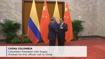 Colombian president says visit to China was instrumental to boost exports