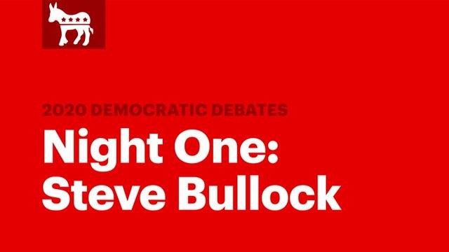 Winners of the Second Democratic Debate: Steve Bullock | RS News 7/31/19