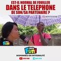 Les ivoiriens donnent leur avis su le fait de fouiller le téléphone de sa/son partenaire. Regardez !