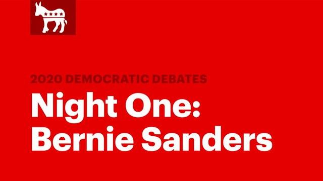 Winners of the Second Democratic Debate: Bernie Sanders | RS News 7/31/19