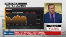 Guggenheim's Minerd Says Fed Is in With Both Feet, Expect More Rate Cuts