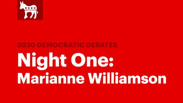 Winners of the Second Democratic Debate: Marianne Williamson | RS News 7/31/19