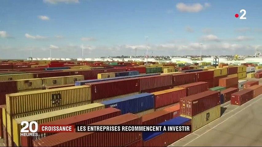 Croissance : les entreprises françaises recommencent à investir