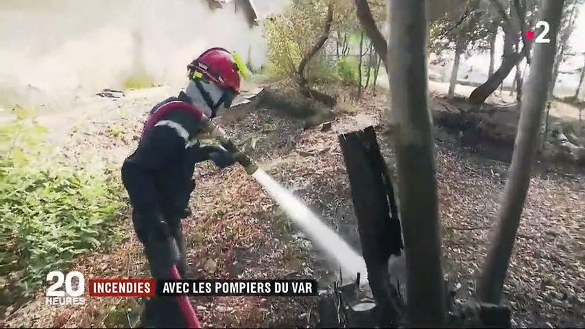 Incendie : les pompiers du Gard toujours sur le qui-vive
