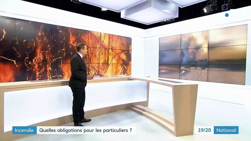 Incendies : quelles obligations pour les particuliers ?