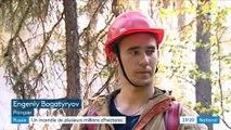 Russie : des incendies en Sibérie visible depuis l'espace