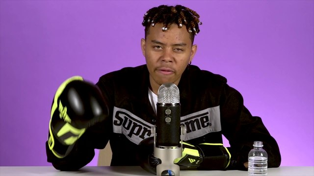 YBN Cordae Does ASMR with Boxing Gloves and His Knuckles, Talks 'The Lost Boy' | Mind Massage | Fuse