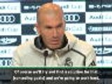 Real working hard to find solution for leaky defence - Zidane