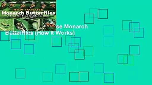 [READ] How to Raise Monarch Butterflies (How It Works)