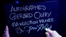 """"""" GÉRARD OURY """" AUTOGRAPHES, COLLECTION PRIVÉE JAK ARNOULD ©ADAGP"""