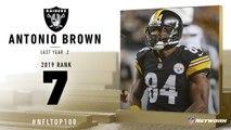 -7: Antonio Brown -WR, Raiders- - Top 100 Players of 2019 - NFL