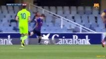 Les caviars de Juan Miranda avec le Barça B