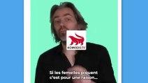 LA vidéo d'Aymeric Caron pour soutenir les moustiques