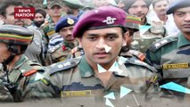 MS Dhoni to be deployed in Kashmir after Army training