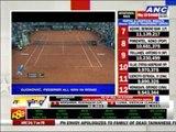 Djokovic, Federer win in Rome