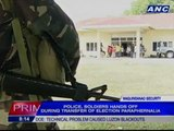 Military on full deployment in Maguindanao