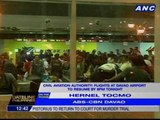 Davao Airport authorities hold press briefing