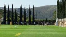 OM : les Olympiens à l'entraînement au centre Robert Louis-Dreyfus à trois jours d'OM-Naples