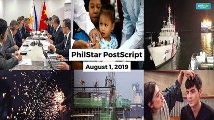 Postscript August 1, 2019