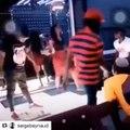 Cette femme danse comme une folle à un concert de Serge beynaud. Hilarant !