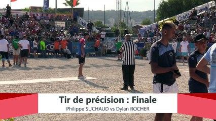 Europétanque des Alpes-Maritimes 2019 : Finale du Tir de précision SUCHAUD vs ROCHER