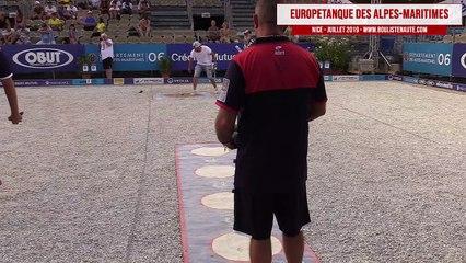 Europétanque des Alpes-Maritimes 2019 : Huitième Henri LACROIX vs Nicolas DRAI