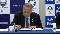 FINA chief 'not expecting' podium protest repeat at Tokyo Olympics
