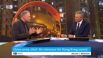 China's Hong Kong PLA garrison commander warns against violence | DW news