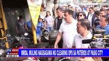 MMDA, muling nagsagawa ng clearing ops sa Pateros at Pasig City