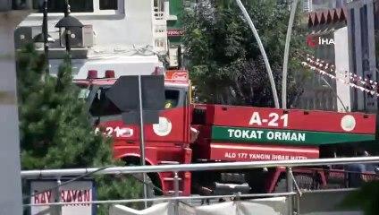 Tokat'ta Aşırı Sıcaklar Ot Yangınına Neden Oldu
