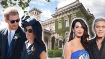 Meghan Markle - Prince Harry Stayed With George Clooney In Luxury Italian Villa Over Weekend