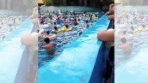 VIDÉO - Tsunami dans une piscine en Chine : 44 blessés