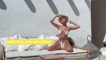 Gigi & Bella Hadid's Mykonos trip will give you major FOMO