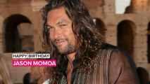 Jason Momoa gets early surprise 40th party in London