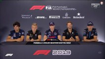 F1 2019 Hungarian GP - Thursday (Drivers) Press Conference