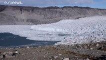 Fonte de glace record après l'arrivée de la canicule au Groenland