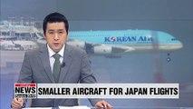 Korean Air to introduce smaller aircraft for Japan flights on falling demand amid trade spat