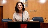 Isabel Díaz Ayuso será investida presidenta de la Comunidad de Madrid