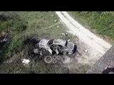 RTV Ora – Një makinë e djegur gjendet poshtë urës së Gjolës në Fushë Krujë