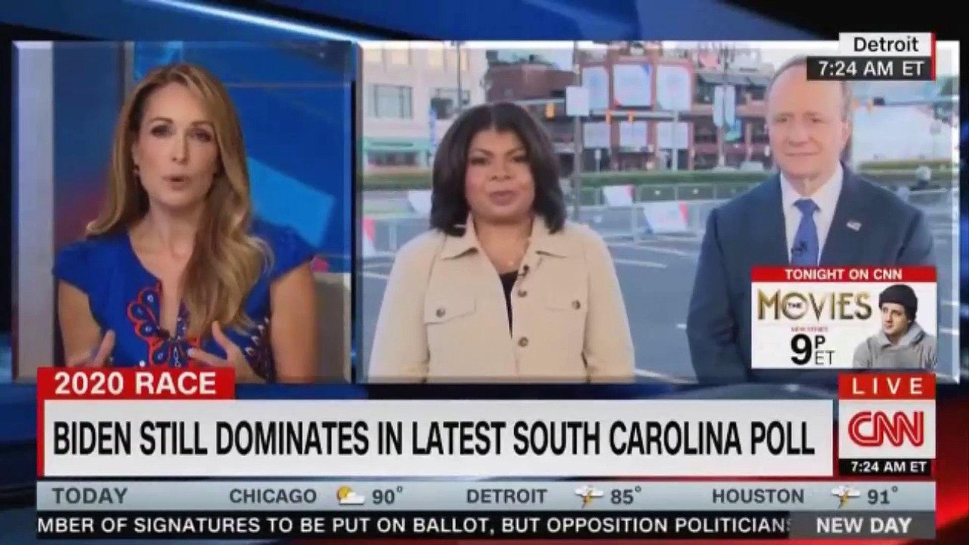 2020 RACE  BOOKER, BIDEN, HARRIS TO SHARE  STAGE IN CNN DEBATE.  CNN NEWS LIVE APRIL RYAN