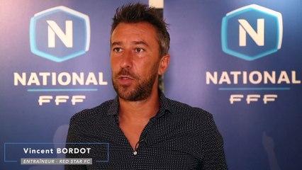"""Red Star FC - Vincent Bordot """"On nous impose ce statut de favori"""""""