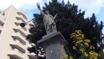 Une réplique de la statue de la liberté à St-Etienne