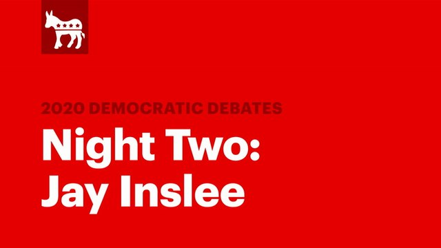 Winners of the Second Democratic Debate: Jay Inslee | RS News 8/1/19