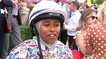 Khadijah Mellah races to historic win at Goodwood