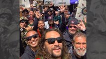 Jason Momoa supports Hawaiian telescope protest