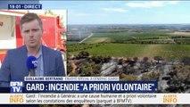 Gard: l'incendie à Générac a une cause humaine et a priori volontaire (parquet)