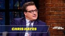 Chris Hayes Wants to See Buttigieg, Warren, Harris, Sanders and Biden Debate Each Other