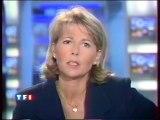 TF1 - 6 Septembre 1997 - Début JT 13H (Claire Chazal)