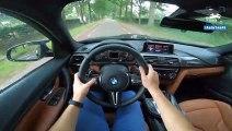 2019 BMW M3 Competition M PERFORMANCE Exhaust LOUD! POV Test Drive by AutoTopNL